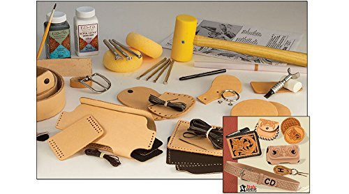 Tandy Leather Deluxe Leathercraft Set 55502-00 (Leatherworking Tools)