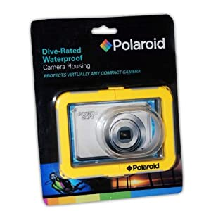 Polaroid PLWPCK18-8 Dive-Rated Waterproof Camera Housing for Sony Cybershot DSC