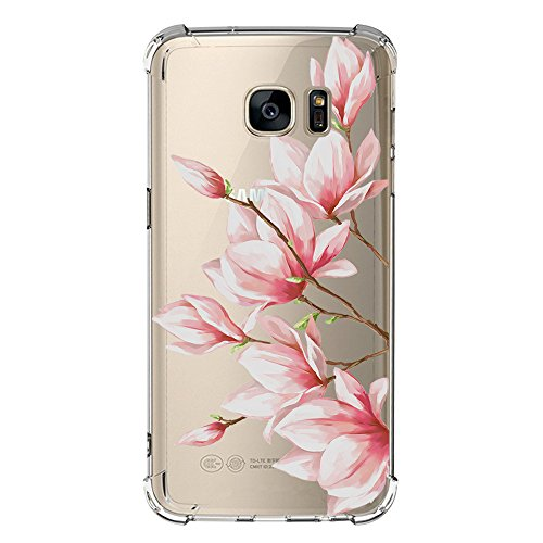 Price comparison product image Beryerbi Samsung Galaxy s6 Edge Plus Case Super Slim Anti-scrape Air Cushion Technology Protective Cover Marble Pattern (2, Galaxy s6 Edge)