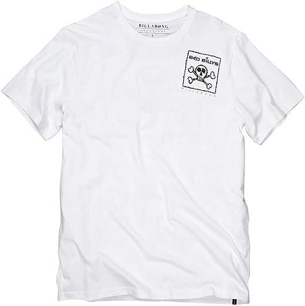 BILLABONG - Camiseta de Manga Corta para Hombre, Color White Cap, Talla Talla Inglesa: s: Amazon.es: Ropa y accesorios