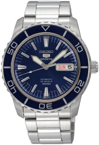 [セイコーimport]腕時計SEIKO5SPORTS(セイコーファイブスポーツ)オートマチックデイデイトSNZH53JC逆輸入品シルバー
