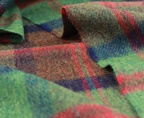 John Hanly & Co. Irish Lambswool Scarf - Red & Green PlaidAbout Us