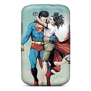 High Quality HKC6402BpRL Superman Cartoon Tpu Case For Galaxy S3
