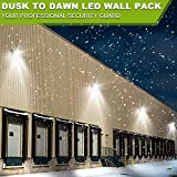 8000Lumen LED Wall Pack with Dusk to Dawn