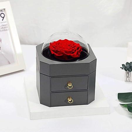 Flor de jabón Rosas nunca marchitas Caja de regalo con ...