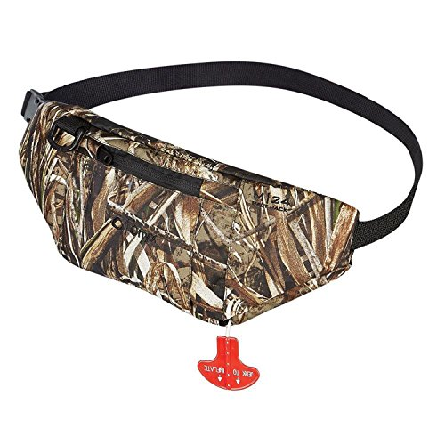Onyx M-24 Manual Inflatable Belt Pack, Realtree Max5