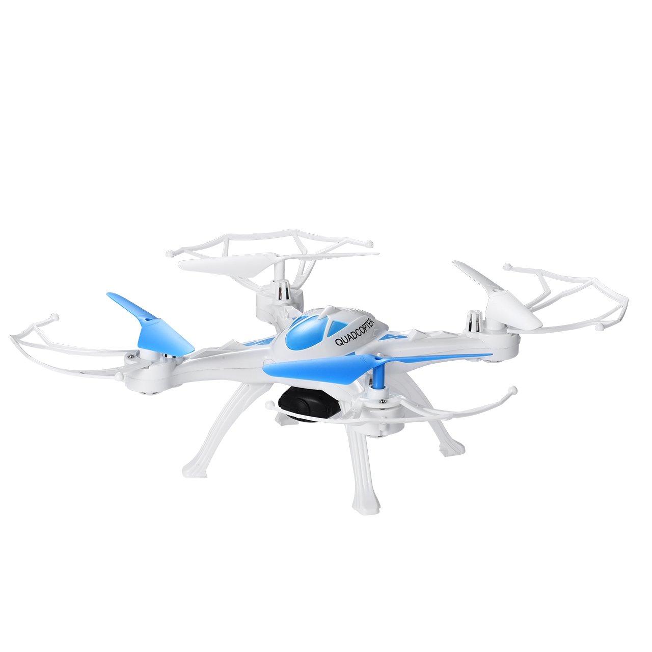 OMorc Drone con Cámara HD Quadcopter Cuadricoptero de Axis y Control Remoto