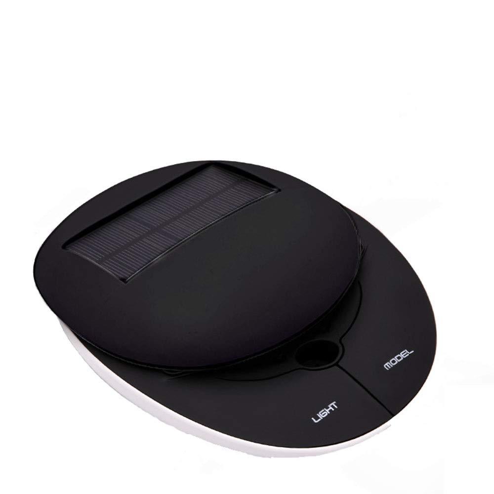 ETH Car Oxygen Bar Black White Smart Solar Slide Air Purifier Convenience (Color : Black)