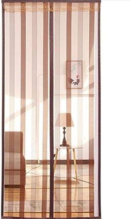 COAOC Mosquitera MagnéTica Mosquiteras Enrollables con Durable Mantiene los Mosquitos de Insectos Fuera para Puertas Correderas A 170x230cm(67x91in): Amazon.es: Hogar