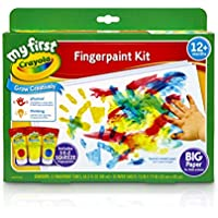 Crayola My First Fingerpaint Washable Paint Kit