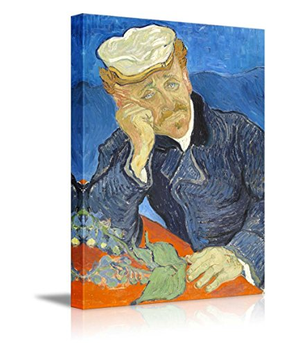 Portrait of Dr Gachet by Vincent Van Gogh Print Famous Painting Reproduction