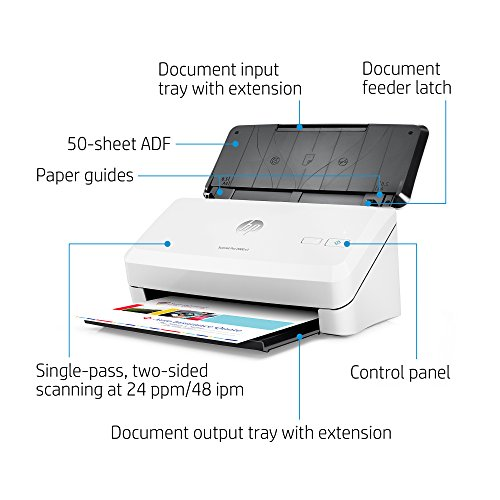 HP ScanJet Pro 2000 s1 Sheet-feed OCR Scanner by HP (Image #1)