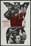1965 The Smut Peddler Movie Poster - 27 x 40 - Style Afeaturing W.B. Parker,Tommy Spencer,Lisellotte Fugger,Jackie Miller,Renate Vogt,Hedi John,Roberta Evans,Joy Durden, William Rose,