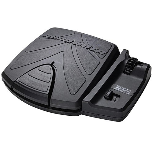 Minn Kota Mka Foot Pedal, Left/Right Steer, Waterproof, 18' Cord, Black ()