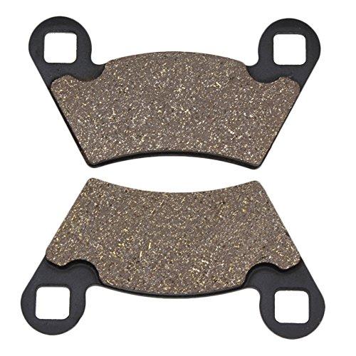 Cyleto Front & Rear Brake Pads for POLARIS Ranger 700 Efi 6x6 2006 2007 2008 2009 / Ranger XP 700 4x4 2006 2008 -