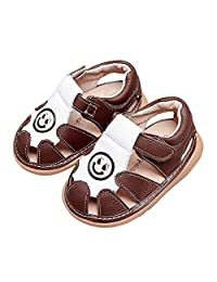 iFANS Baby Boys Girls Cute Sandals Sport Non-Slip Flat Shoes for Kids Toddler