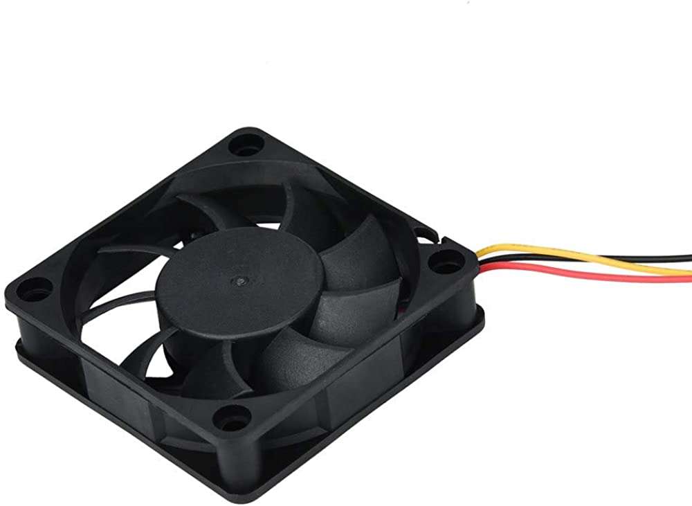 JonerytimeLYF DC 12V 3Pin 60X6015mm PC CPU Case Cooling Fan Big Airflow Heatsink Black