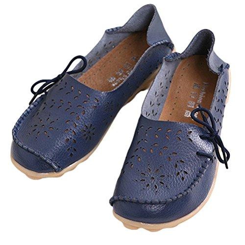 Comfort Stile Scarpe Basso Donna Piatto 2 Espadrillas Blu Scarpe Col Tacco Casuali Vogstyle Pompe F0gZAqaZ