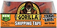 """Gorilla Packing Tape Tough & Wide Refill for Moving, Shipping and Storage, 2.83"""" x 30 yd"""