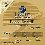 Peace Be Still [Accompaniment/Performance Track]