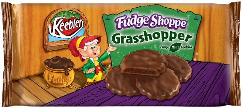 Keebler Fudge Shoppe Grasshopper, Fudge Mint Cookies, 10 oz (Pack - Mint Keebler Cookies