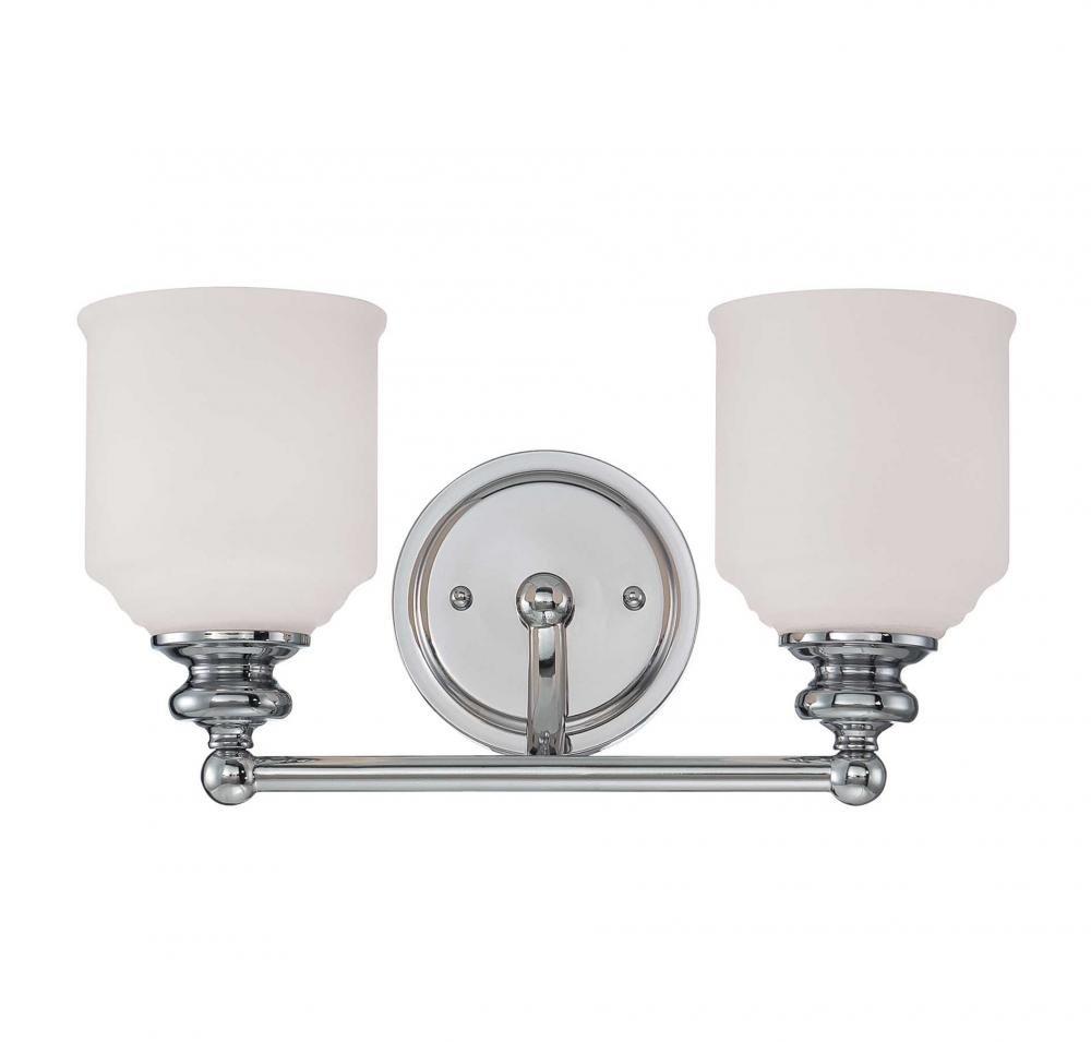 Savoy House 8-6836-2-13 Two Light Bath Bar - Vanity Lighting ...