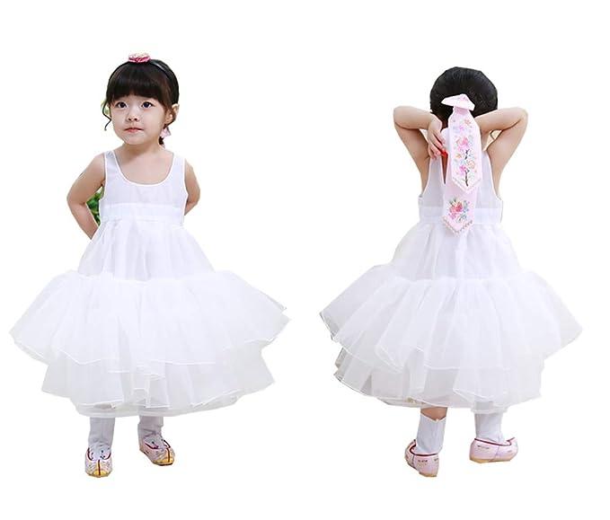 e51e846c6 Amazon.com: Hanbok SOKCHIMA Inner Skirt Korea Traditional Dress Costumes  Babies Girls Juniors Weddings Birthday ins05: Clothing