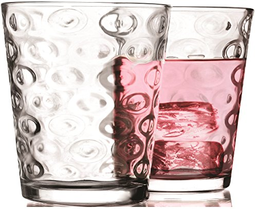 6 Ounce Glassware (Circleware Huge Set of 10,