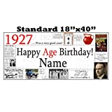 1927 PERSONALIZED BANNER by Partypro