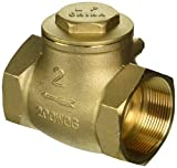 Red-White Valve 2RW246AB Lead Free Brass Swing Check Valve Threaded, 2''
