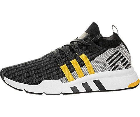 new arrival 82c4e 1ed53 Adidas EQT Apoyo Mid ADV Primeknit, Core BlackEQT Yellow-Footwear White,