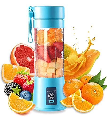 RitEmart USB Juicer Bottle Blender Mixer Gym Protein Shaker Portable Battery Rechargeable Citrus Juicy Fruits DIY…