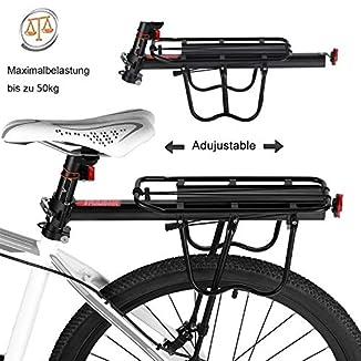 Portaequipajes bici 29 sin roscas BICICLETAS Y PIRULETAS 1