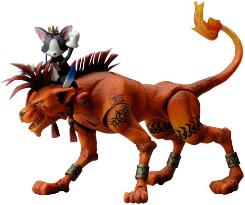 Final Fantasy VII Play Arts Vol. 2 Action Figure - Red XIII & Cait Sith No. 4 ()