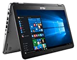 "ASUS VivoBook Flip R581UA-DH51T 14"" Thin and Lightweight 2-in-1 HD Touchscreen Laptop, Intel"