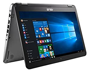 Asus  VivoBook Flip R518UA-DH51T 15.6-inch Intel Core i5-7200U Processor, 2.5GHz (up to 3.1GHz), 256GB SSD, 8GB DDR4, Windows 10