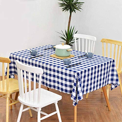 Christmas, Festive Plaid Tablecloths, Polyester 90140cm Squares are Ideal for Everyday Use, Picnic Tables, Dinners, Festivals and Special Occasions.