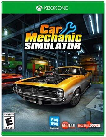 163e7670 Amazon.com: Car Mechanic Simulator (XB1) - Xbox One: Maximum Games LLC:  Video Games