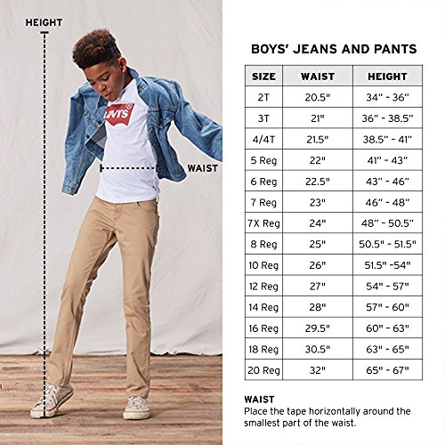 Levi's Big Boys' 510 Skinny Fit Jeans, Vintage Peak, 20 by Levi's (Image #6)