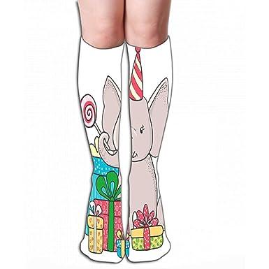 e- Field-socks Medias de 19.7 (50 cm) para mujeres y niñas ...