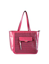 ELLE Satchel (El0143G), Pink, Under Seat