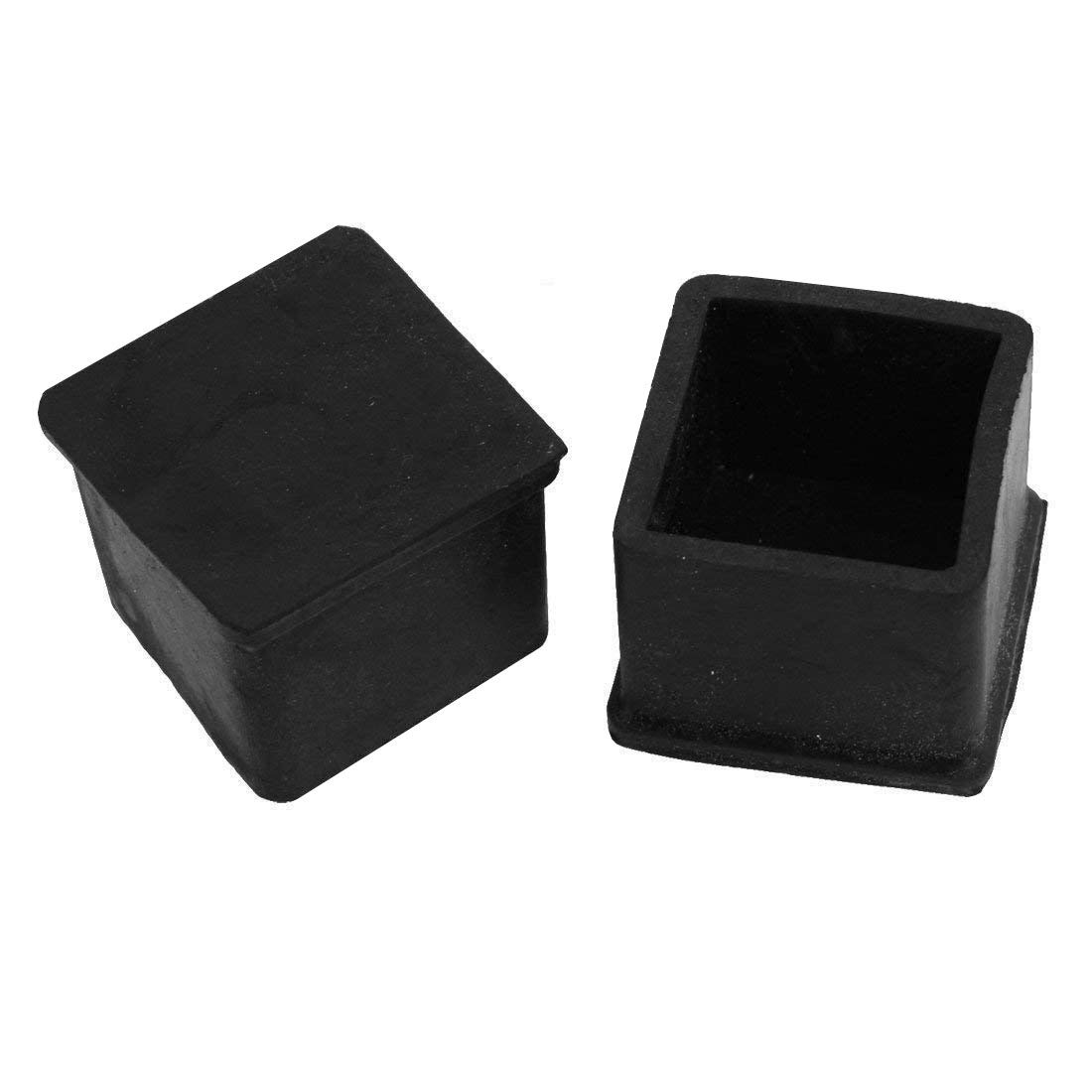 Fence Post Pipe Finishing Caps Insert Chair Glide 12 Pack MELIFE 1 1//4 Inch Square Tubing Plastic Plug 1.25 Anti Slip Chair Leg Caps Pipe Tubing End Cap