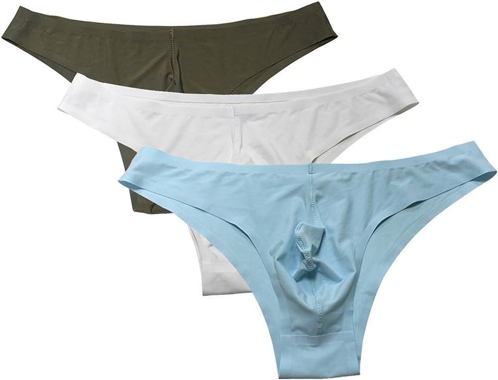 JACK SMITH Men's Traceless Soft Briefs Underwear -Assorted Packs/Colors