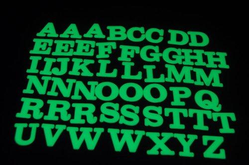 50 Piece Glow in the Dark Alphabet Set