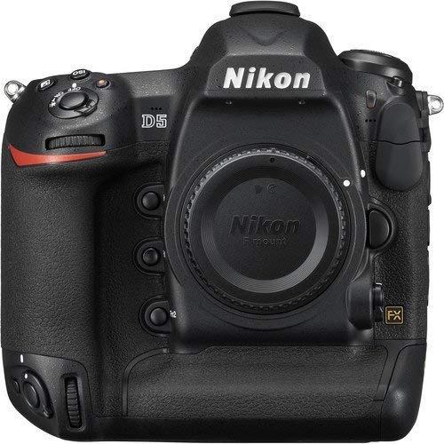 eBasket 1557 Nikon D5 DSLR Camera (Body Only, Dual XQD Slots) (Renewed), Black