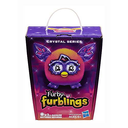 Furby Furblings Creature Plush, Orange/Pink - Import It All