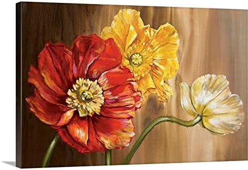 Poppies Canvas Wall Art Print
