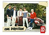 One Direction trading card #96 Louis Tomlinson, Niall Horan, Liam Payne, Zayn Malik, Harry Styles