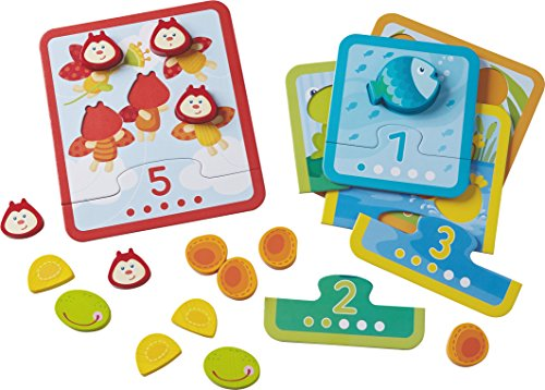Matching Game - Reinforcing Numbers 1-5 - Ages 18 Months and Up (Made in Germany) ()