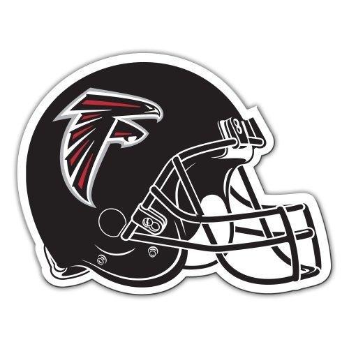 Fremont Die NFL Atlanta Falcons 12-Inch Vinyl Helmet Magnet ()